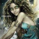 Moon Faery Counted Cross Stitch Pattern Fantasy Fairy ETP
