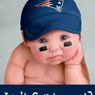 Is It Sunday Yet? Cross Stitch Pattern New England Patriots Football ETP
