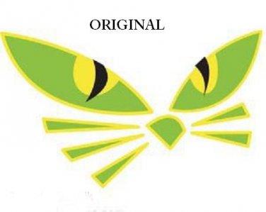 Cat Eyes Cross Stitch Pattern ETP