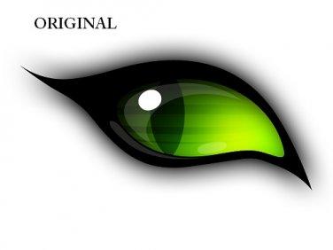 Eye of The Cat Cross Stitch Pattern ETP