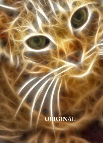 Lightening Cat 1 Cross Stitch Pattern Digital Art ETP