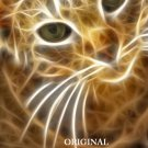Lightening Cat 1 Cross Stitch Pattern Digital Art ETP