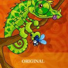 Lizard Life Cross Stitch Pattern Tropical ETP