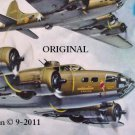 Memphis Belle Cross Stitch Pattern WWII MIlitary Aircraft ETP