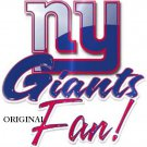 New York Giants Fan Cross Stitch Pattern NFL Football ETP