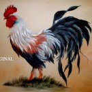 Regal Rooster... DIGITAL DOWNLOAD... ~Counted~ Cross Stitch Pattern ETP