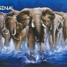 Wild Elephants... ~Counted~ Cross Stitch Pattern ETP