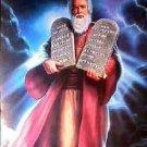 Moses ~ Ten Commandments... ~Counted~ Cross Stitch Pattern ETP
