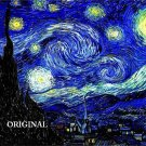 Starry Night by Van Gogh... ~Counted~ Cross Stitch Pattern  ETP