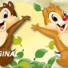 Chip n Dale ... ~Counted~ Cross Stitch Pattern ETP