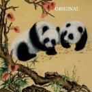 Oriental Pandas Cross Stitch Pattern Bears ETP