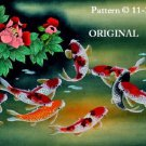 Oriental Koi 2 Cross Stitch Pattern Fish ETP