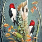 Red Headed Woodpeckers... ~Counted~ Cross Stitch Pattern ETP