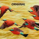 Bee Eaters... ~Counted~ Cross Stitch Pattern ETP