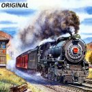 Steam Locomotive... ~Counted~ Cross Stitch Pattern ETP