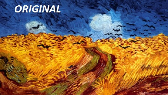 Van Gogh's Wheatfield With Crows... ~Counted~ Cross Stitch Pattern ETP