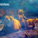 Bears In The Mist... ~Counted~ Cross Stitch Pattern ETP