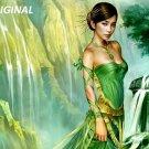 Emerald Princess... ~Counted~ Cross Stitch Pattern ETP