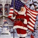 American Santa... ~Counted~ Cross Stitch Pattern ETP