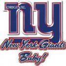New York Giants Baby!... ~Counted~ Cross Stitch Pattern ~Computer Generated~... ETP