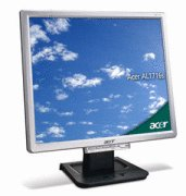 Acer AL1716S 17 inch 8ms LCD Monitor (Silver/Black)