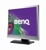 BenQ FP72E 17 inch 8ms w/Speaker DVI LCD Monitor (Silver/Black)