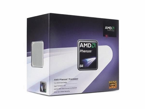AMD Phenom Quad Core Processor 9600 (2.3GHz) AM2+, OEM