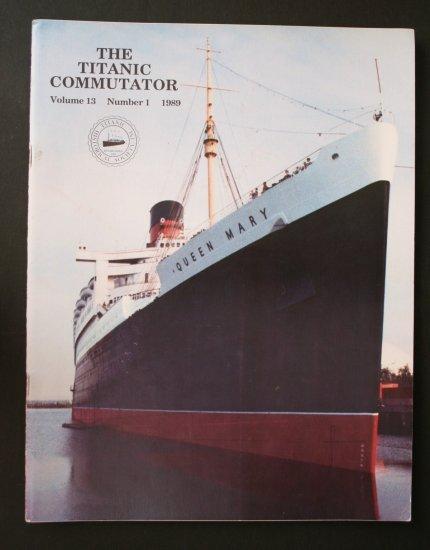Titanic Commutator - Volume 13 Number 1 - 1989