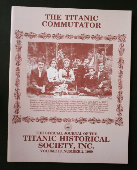 Titanic Commutator - Volume 13 Number 2 - 1989