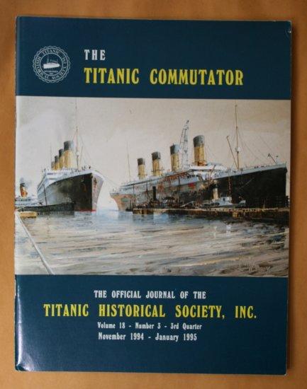 Titanic Commutator - Volume 18 Number 3 - Third Quarter 1994