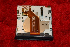 DELL INSPIRON FLOPPY DRIVE WITH CABLE AND FACE!!!