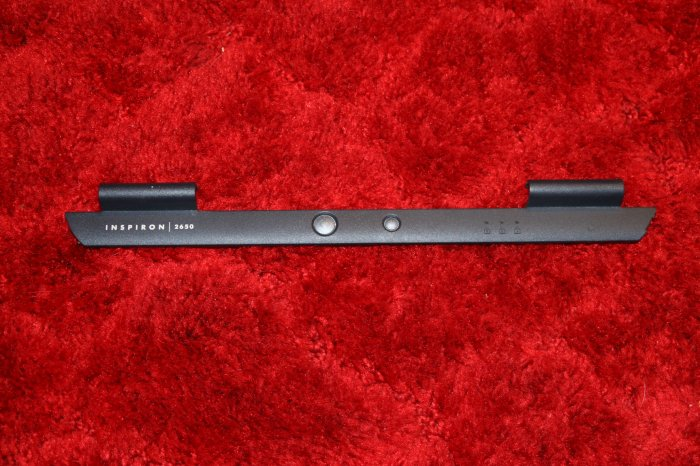 DELL INSPIRON 2650 POWER BUTTON AND HINGE COVER 01J012!!!