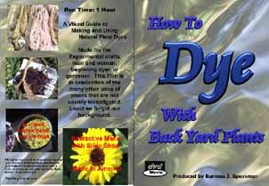 Dye wool with local plants