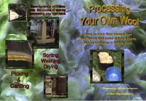 Process your own wool at home
