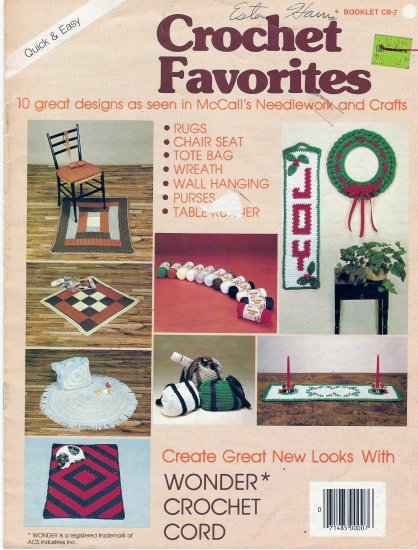 Crochet Favorites Booklet CB-7