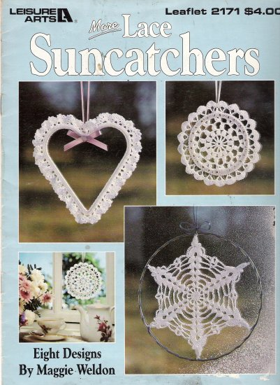 More Lace Suncatchers to Crochet Leaflet 2171