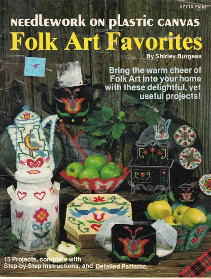 Folk Art Favorites on Plastic Canvas #2PCSC