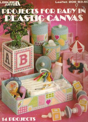 Projects for Baby in Plastic Canvas Leaflet 206 #1PCSC