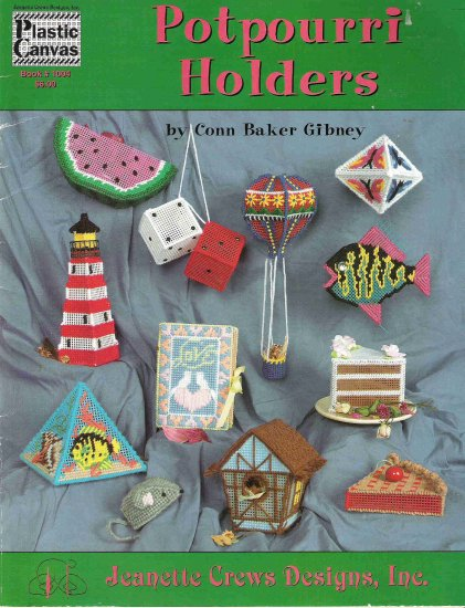 Potpourri Holders Craft Book #2PCSC