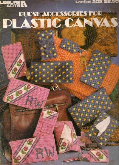Purse Accessories for Plastic Canvas Leaflet 202 #1PCSC