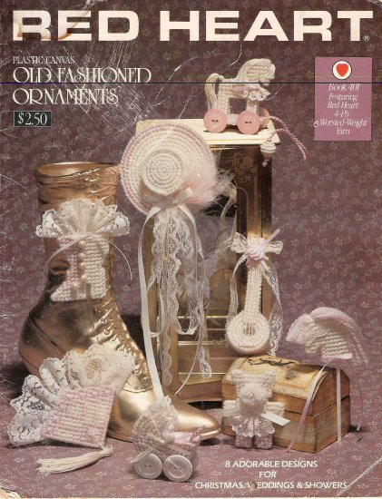 Old Fashioned Ornaments Plastic Canvas Book #2PCSC