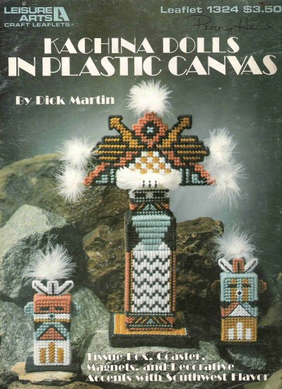 Kachina Dolls in Plastic Canvas Leaflet 1324