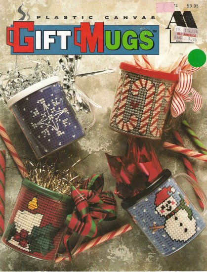 Plastic Canvas Gift Mugs Craft Book