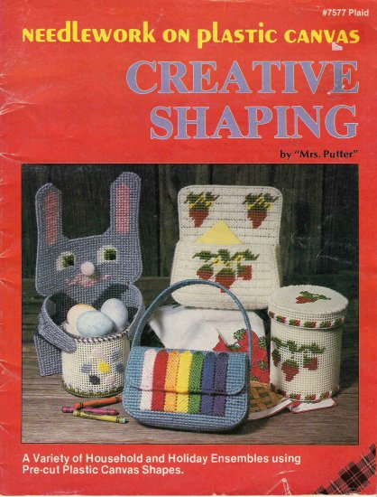 "Creative Shaping By ""Mrs. Putter"" Craft Book"