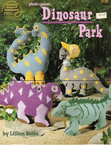 Plastic Canvas Dinosaur Park #1PCSC