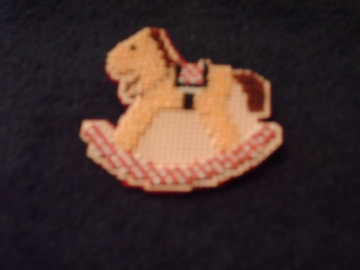 Rocking Horse Beaded Pin