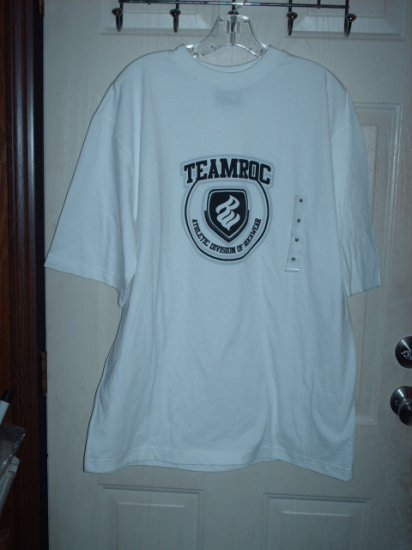 Rocawear T-Shirt White Sz Medium
