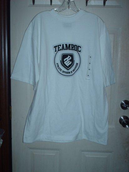 Rocawear T-Shirt White Sz Large