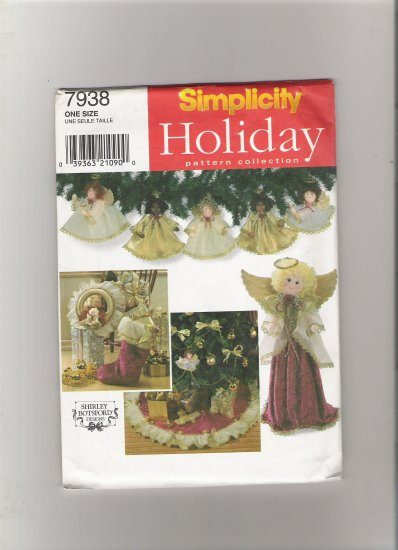 Simplicity 7938 Treeskirt and Wreath
