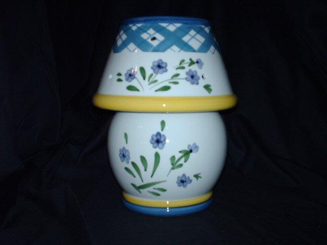 Very Beautiful Candle Jar Lamp - NIB
